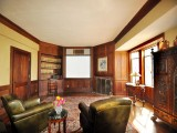 Walt Disney's Home: Living Room